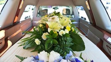 Transport funéraire dans la région de Castelnau-Picampeau